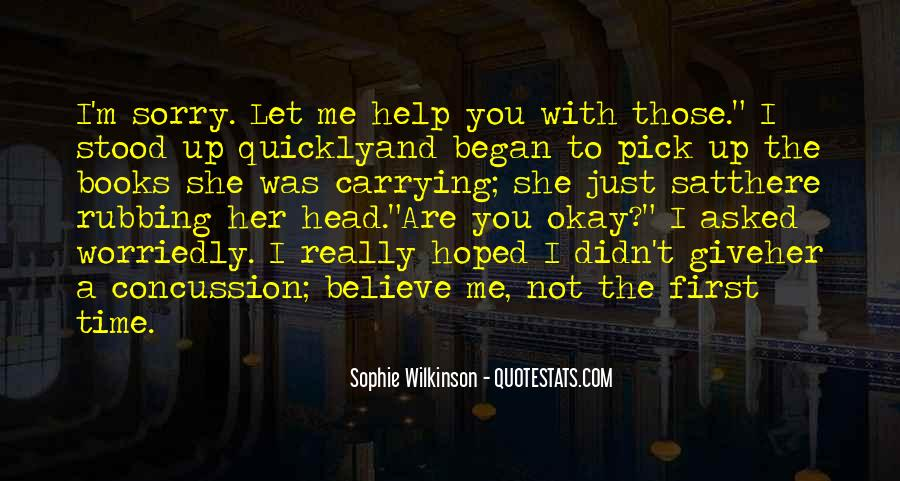 She's Not Okay Quotes #235563