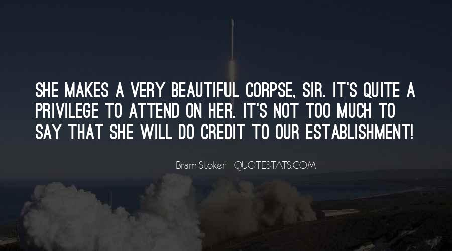 She's Too Beautiful Quotes #1452114