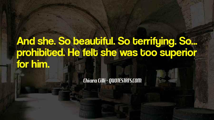 She's Too Beautiful Quotes #148911