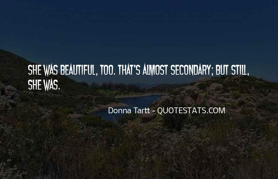 She's Too Beautiful Quotes #773502