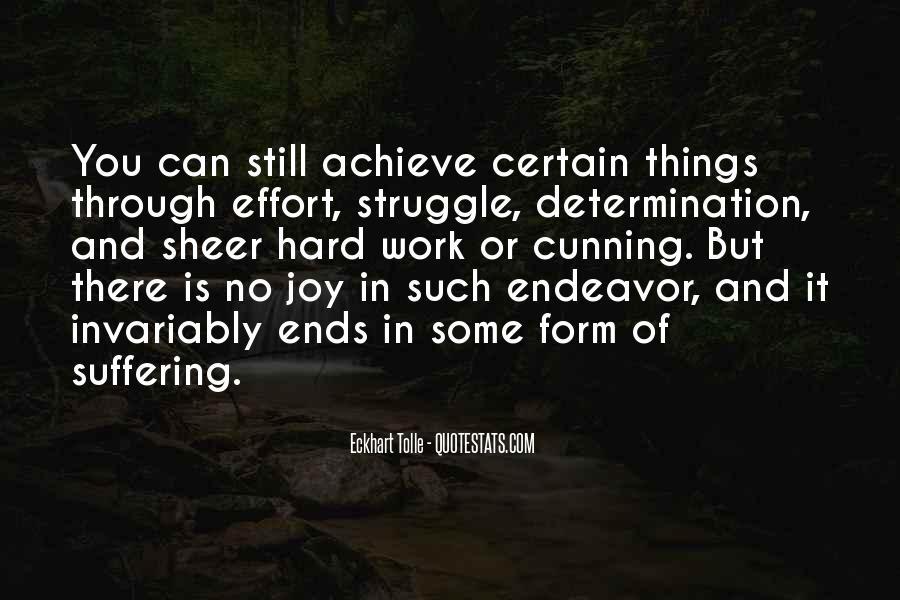 Sheer Determination Quotes #1623287