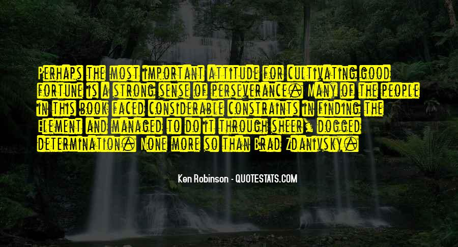Sheer Determination Quotes #1843664