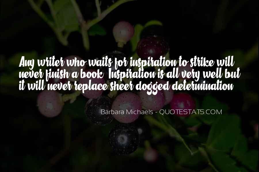 Sheer Determination Quotes #190081