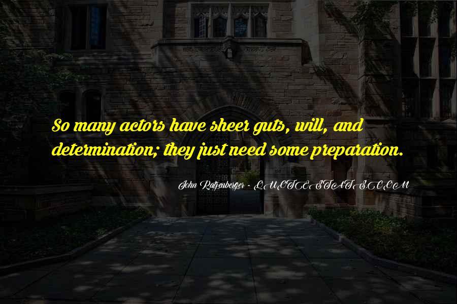 Sheer Determination Quotes #333302