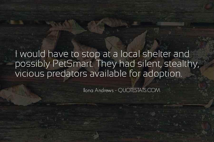 Shelter Adoption Quotes #320404
