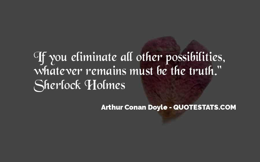 Quotes About H H Holmes #34855
