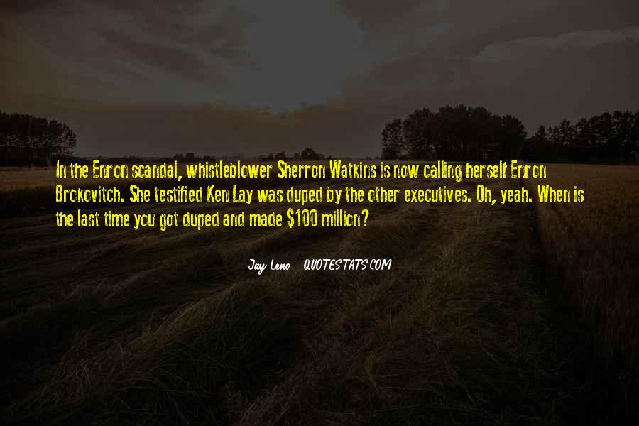 Sherron Watkins Quotes #512442