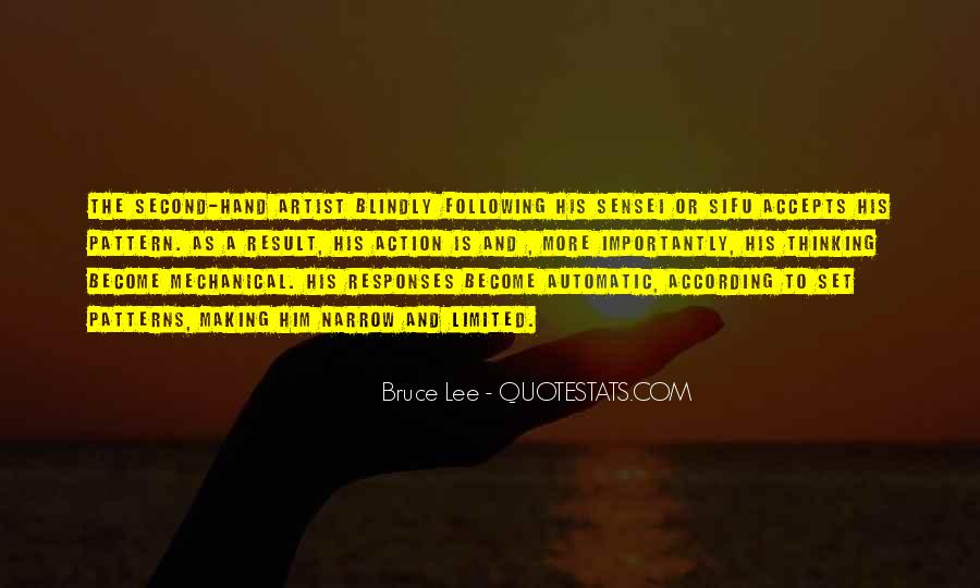 Quotes About Bruce Lee #107835
