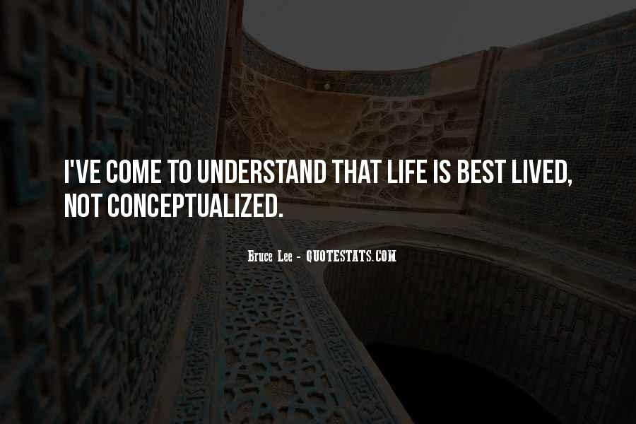 Quotes About Bruce Lee #128332