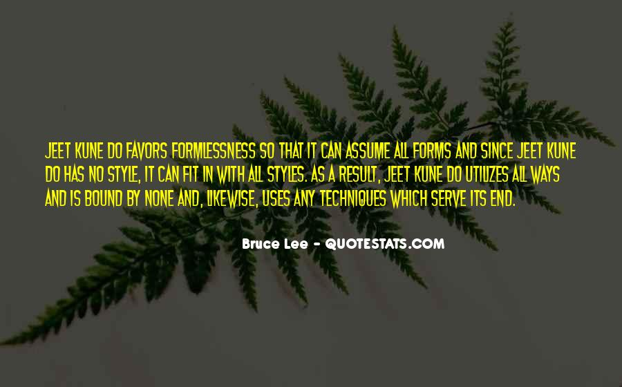 Quotes About Bruce Lee #164109