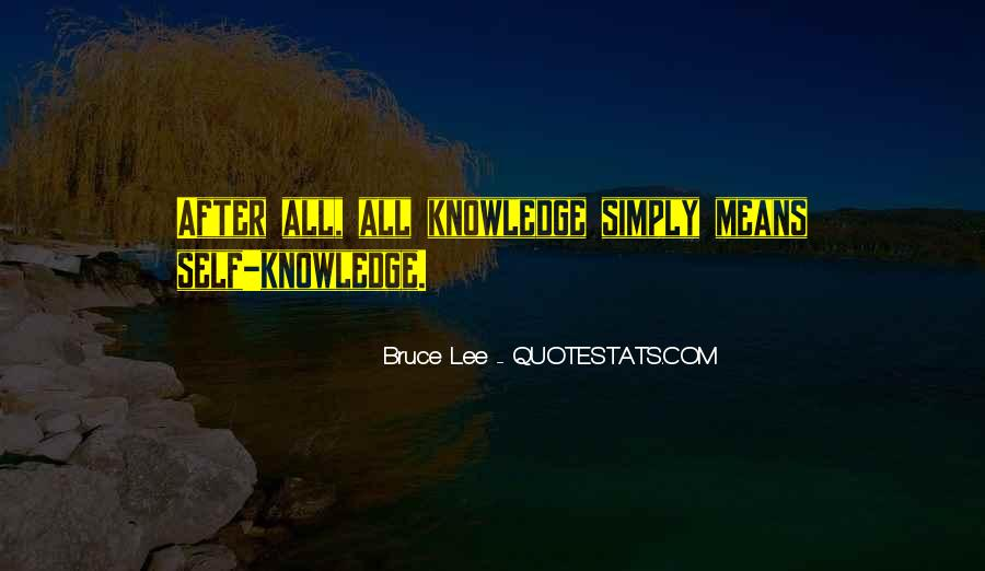 Quotes About Bruce Lee #187195