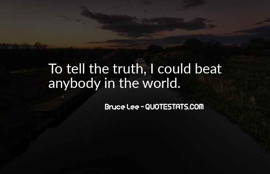 Quotes About Bruce Lee #209446