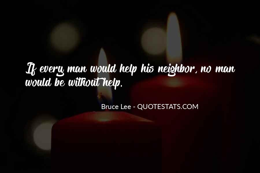 Quotes About Bruce Lee #225528