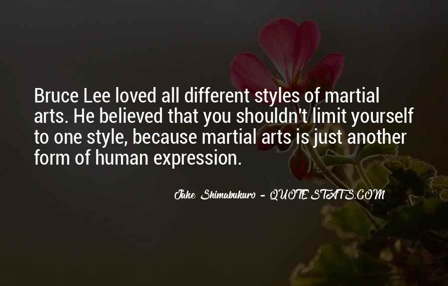 Quotes About Bruce Lee #22608