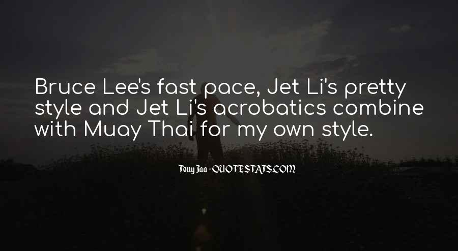 Quotes About Bruce Lee #306608