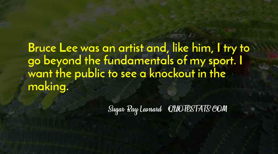 Quotes About Bruce Lee #334677