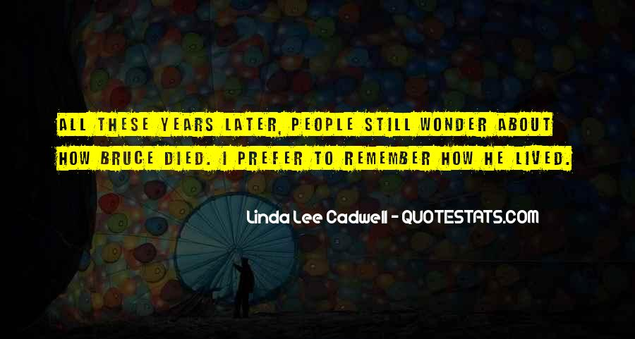 Quotes About Bruce Lee #38909