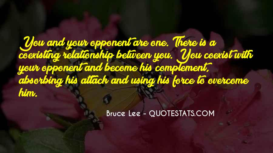 Quotes About Bruce Lee #47525