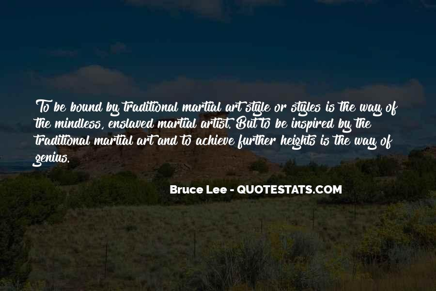Quotes About Bruce Lee #73878