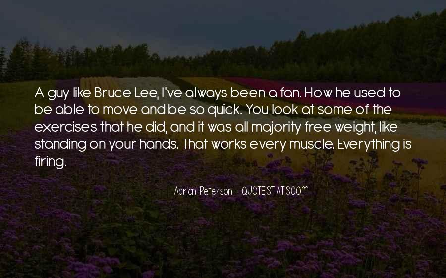 Quotes About Bruce Lee #83060
