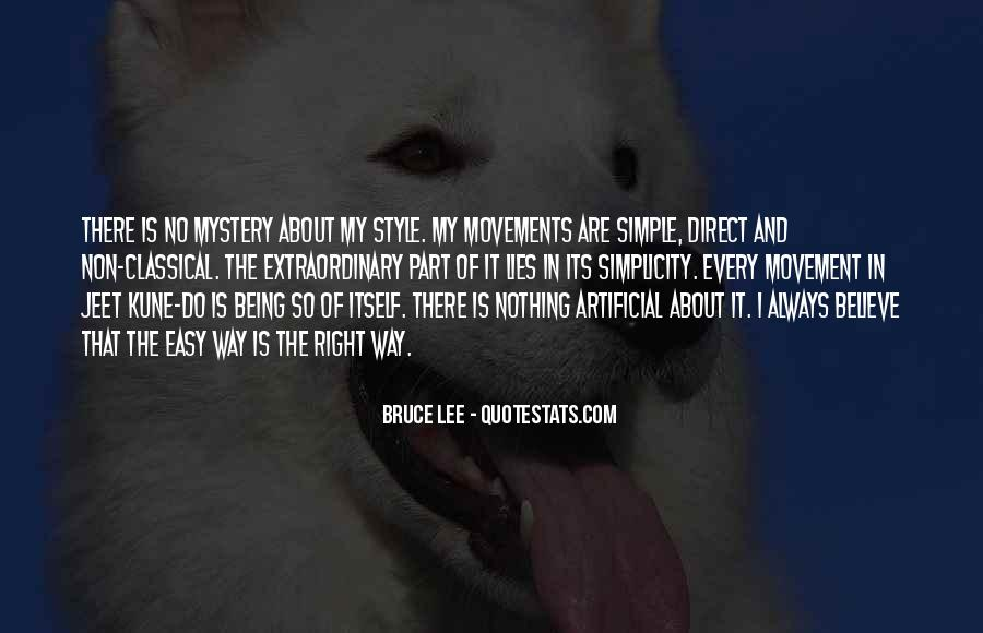 Quotes About Bruce Lee #93842
