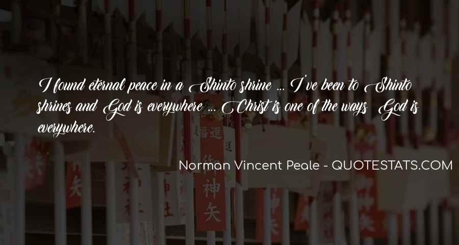Shinto Peace Quotes #664926