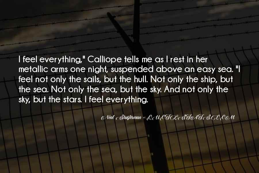 Ship And Sea Quotes #1021258