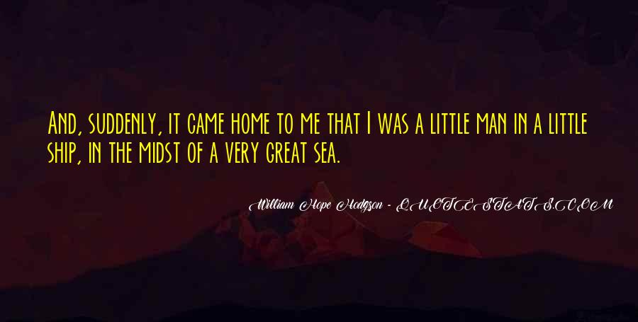 Ship And Sea Quotes #1054451