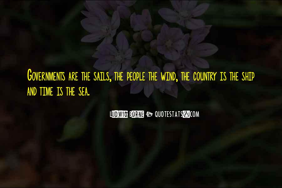 Ship And Sea Quotes #1084297
