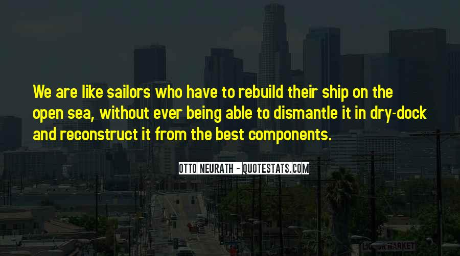 Ship And Sea Quotes #1194875