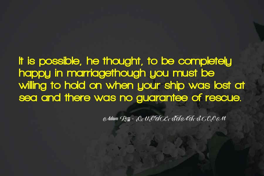 Ship And Sea Quotes #1237945