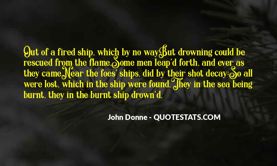 Ship And Sea Quotes #1298441