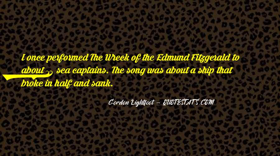 Ship And Sea Quotes #156311