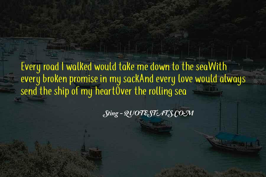 Ship And Sea Quotes #1845537
