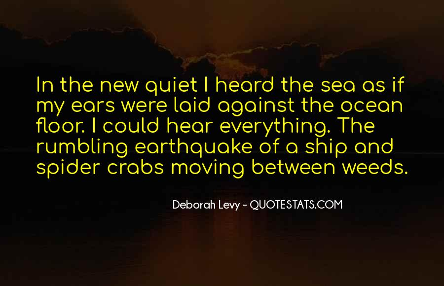 Ship And Sea Quotes #19413