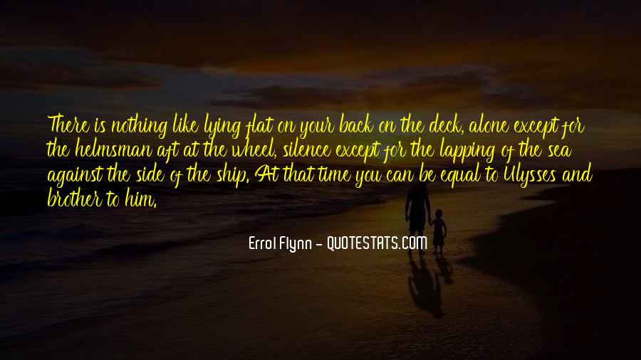 Ship And Sea Quotes #474019