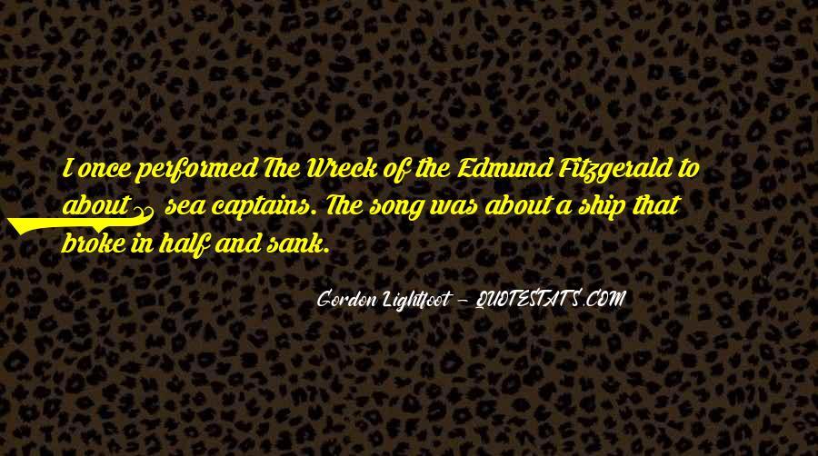 Ship Sank Quotes #156311