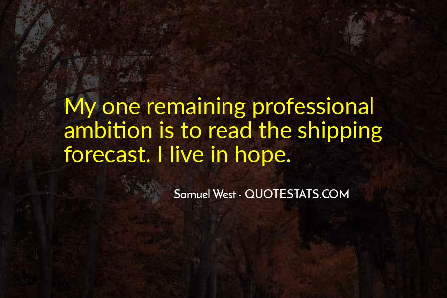 Shipping Forecast Quotes #1458038
