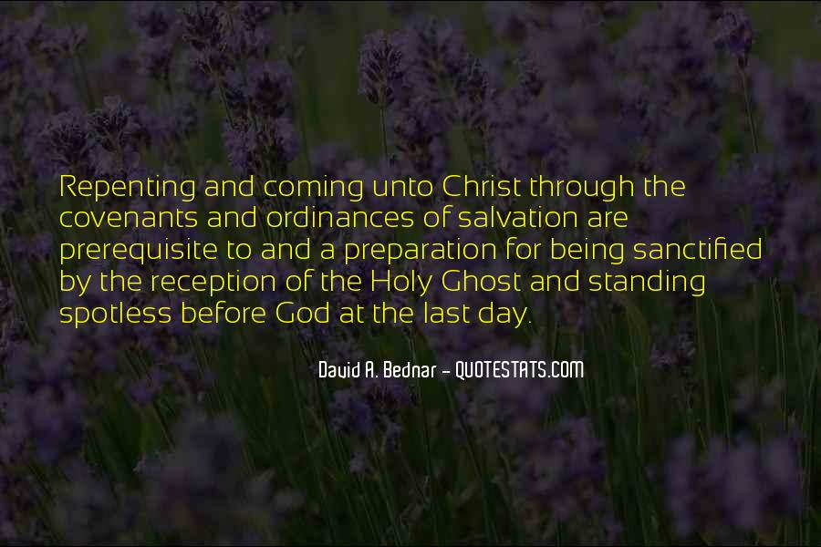 Quotes About Being Holy #132194