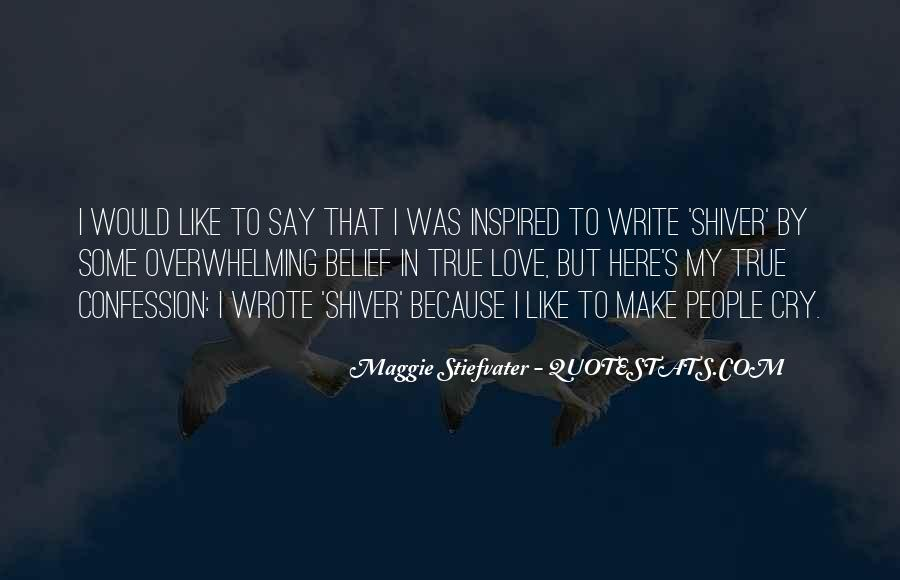 Shiver Maggie Quotes #1251818