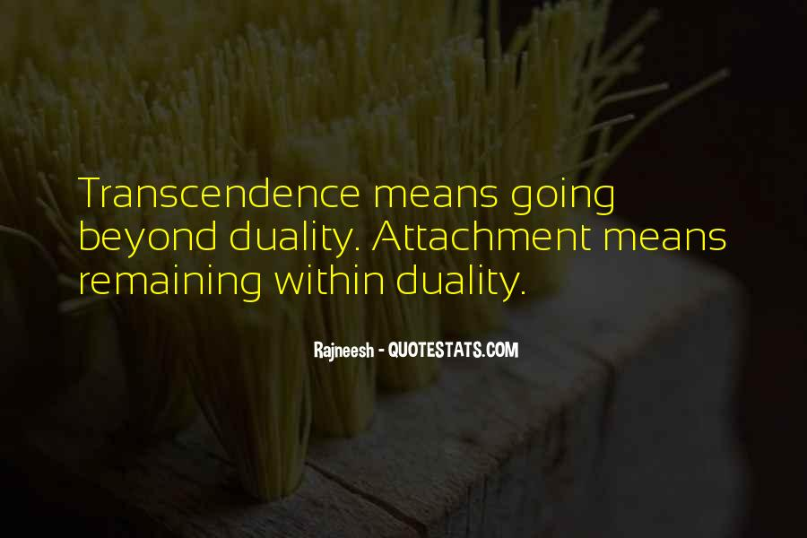 Quotes About Transcendence #166819