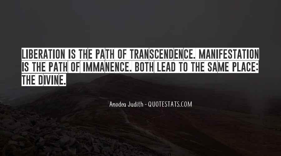 Quotes About Transcendence #171580