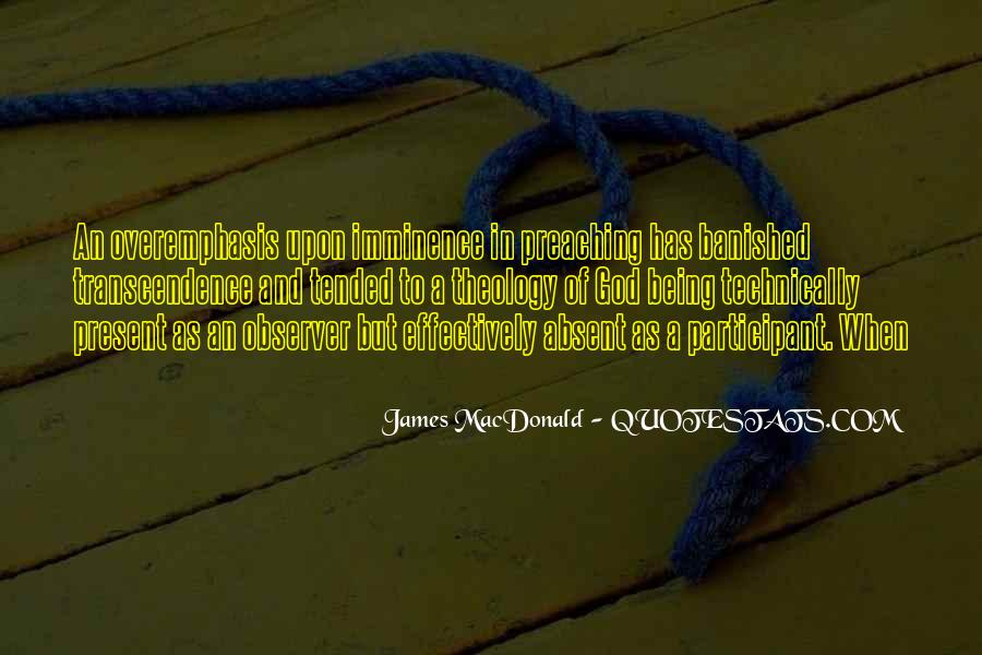 Quotes About Transcendence #173305