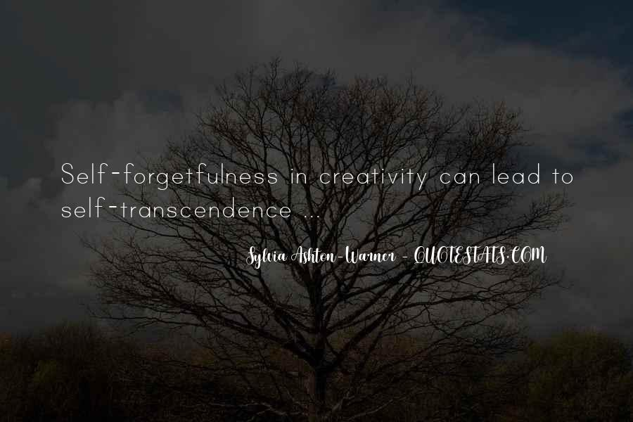 Quotes About Transcendence #180318