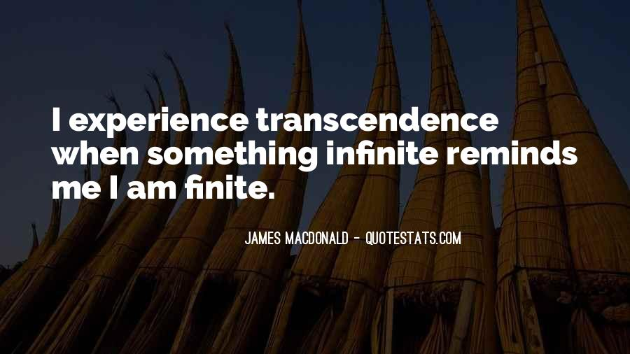 Quotes About Transcendence #187802