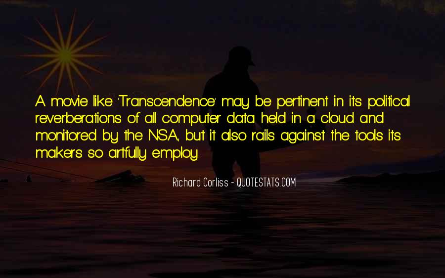 Quotes About Transcendence #201737
