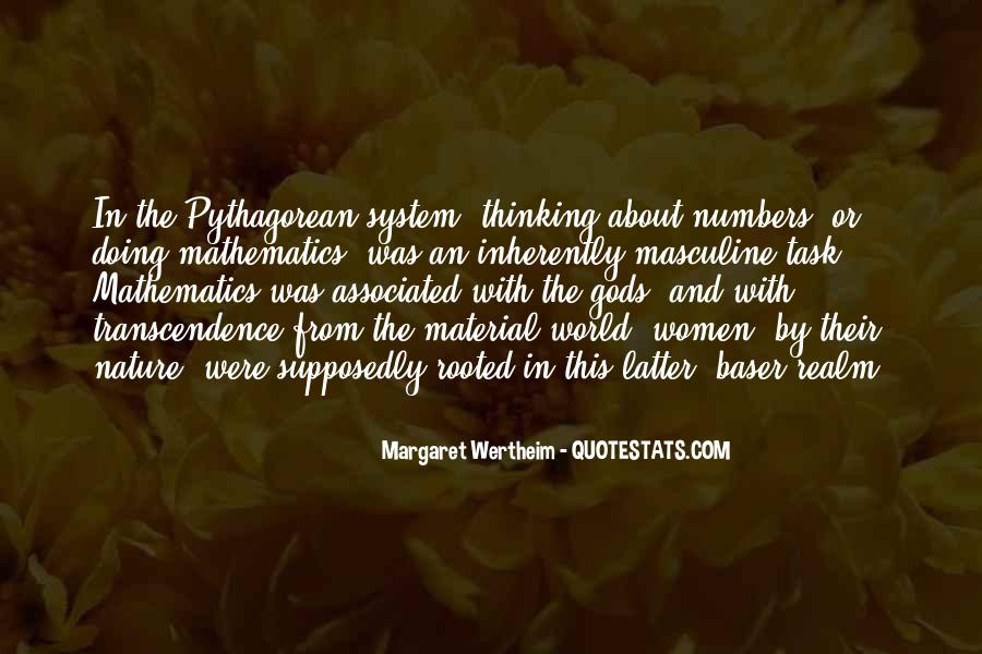 Quotes About Transcendence #21282