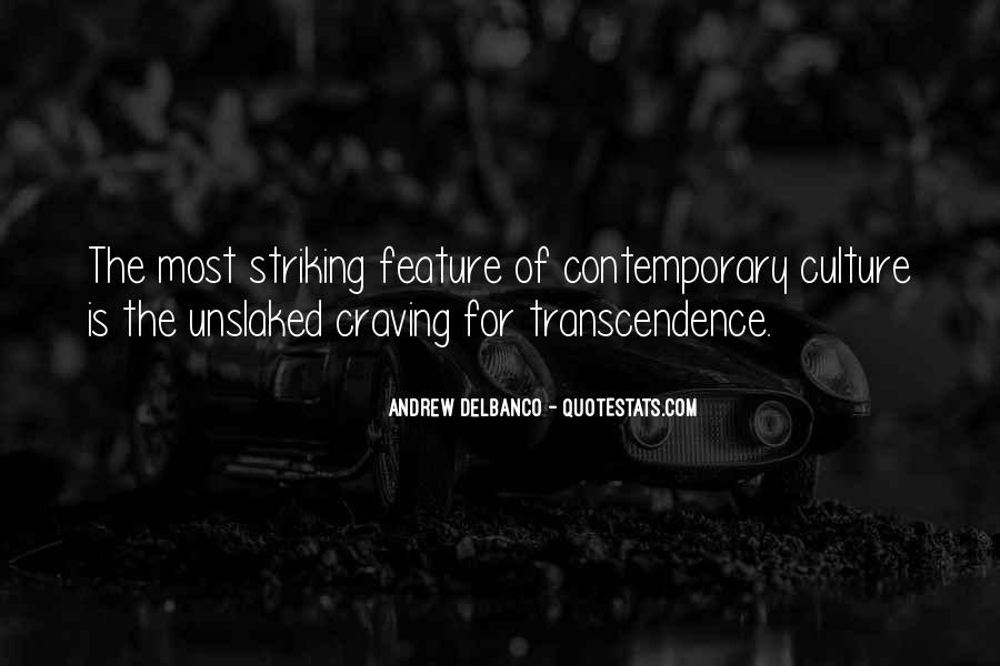 Quotes About Transcendence #225824
