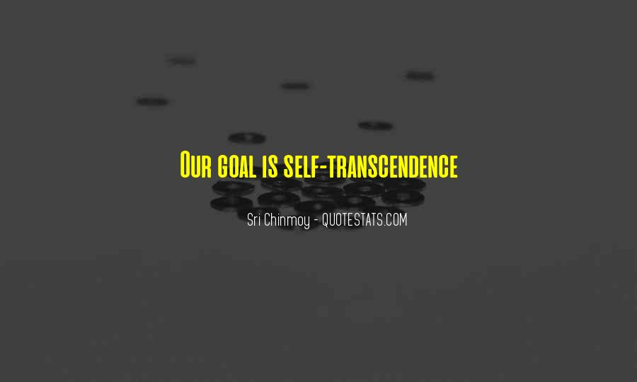 Quotes About Transcendence #233