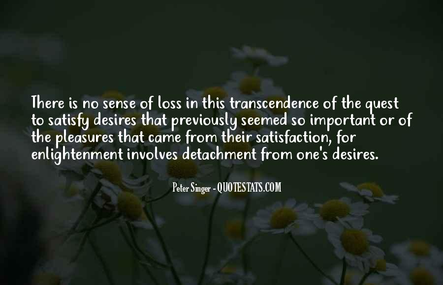 Quotes About Transcendence #246478